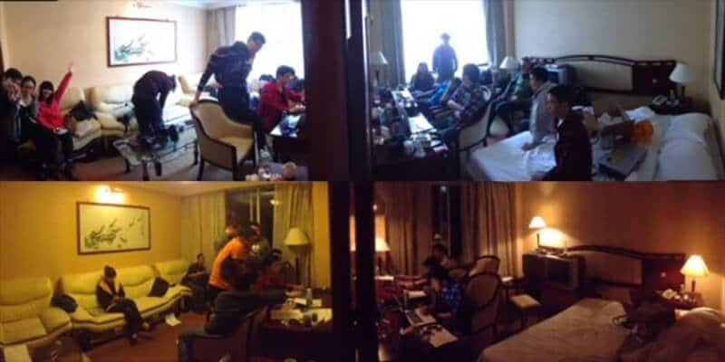 Working day and night: editing under the gun in a hotel room come edit suite