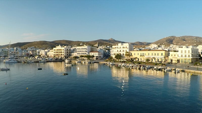 Docroads: Tinos from the Air